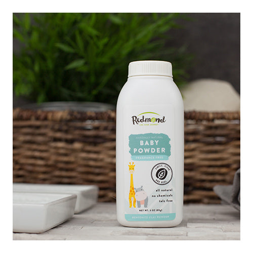 Redmond Clay Baby Powder Fragrance Free 85g
