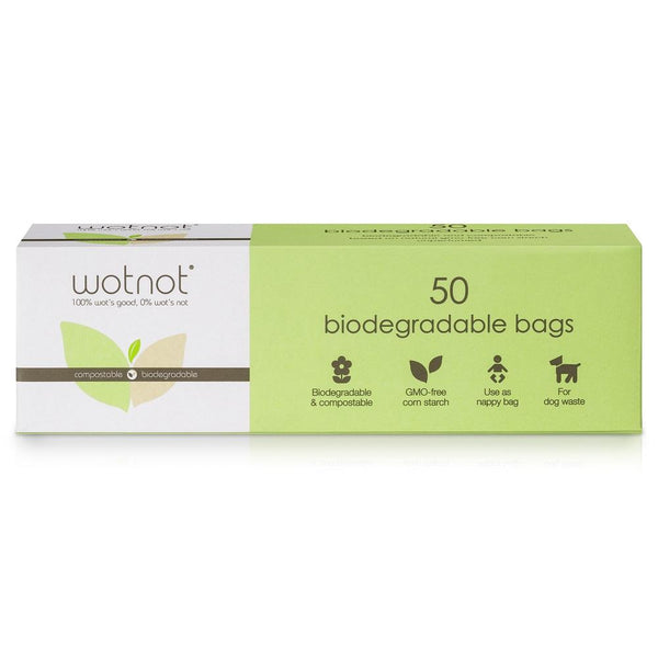 WOTNOT Biodegradable Bags x50