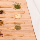 Bamboo Small Spoons 6 Pack
