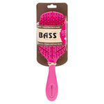 BASS BRUSHES Bio-Flex Detangler Hair Brush (PINK)
