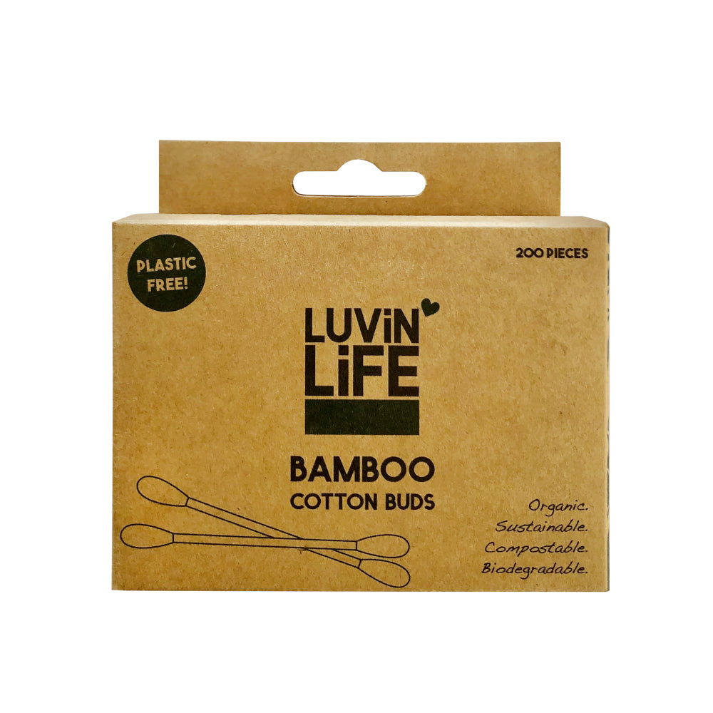 LUVIN LIFE Bamboo Cotton Buds - 200