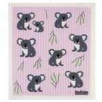 Retro Kitchen Compostable Sponge Cloth Koala