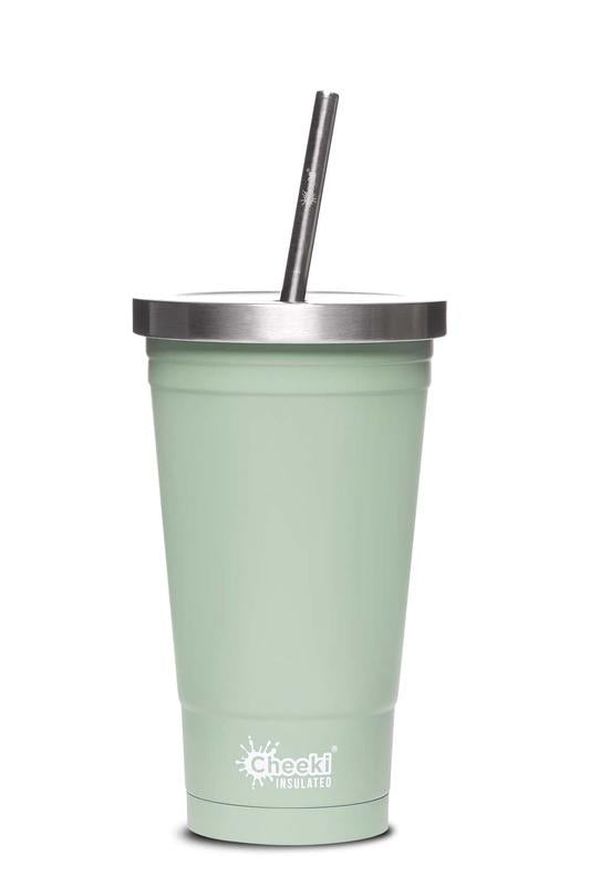 Cheeki Stainless Steel Insulated Tumbler - Pistachio