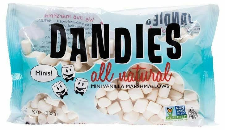 DANDIES Vegan Vanilla Marshmallows Mini size 283g