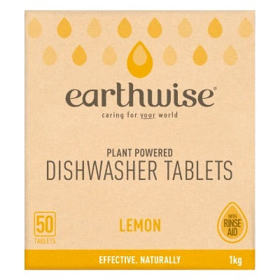 EARTHWISE Dishwasher 30 Tablets - Lemon