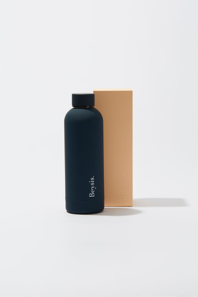 Beysis Insulated Water Bottle 500ml Navy