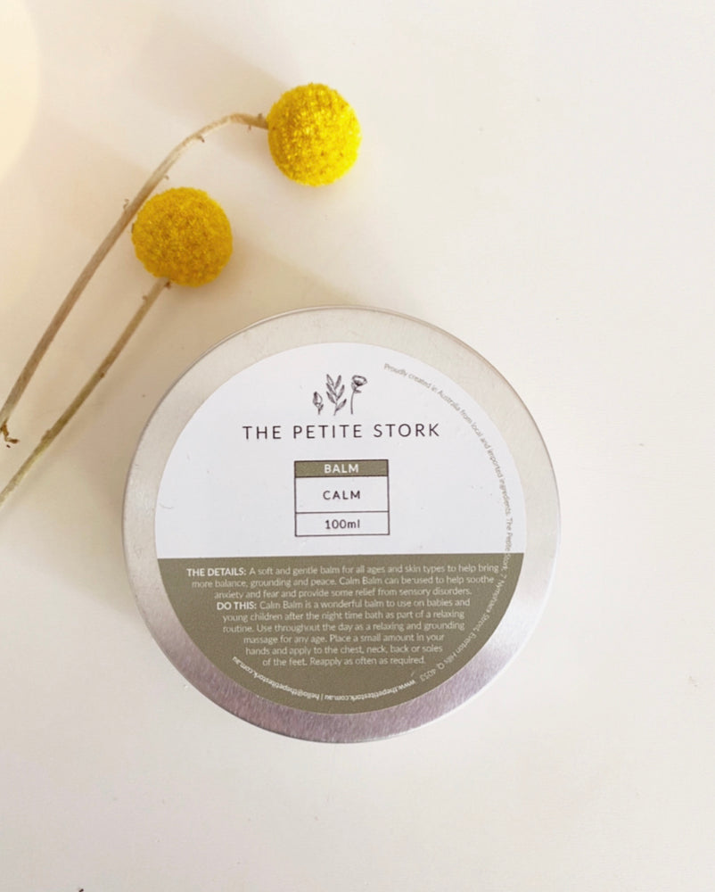 The Petite Stork Calm Balm