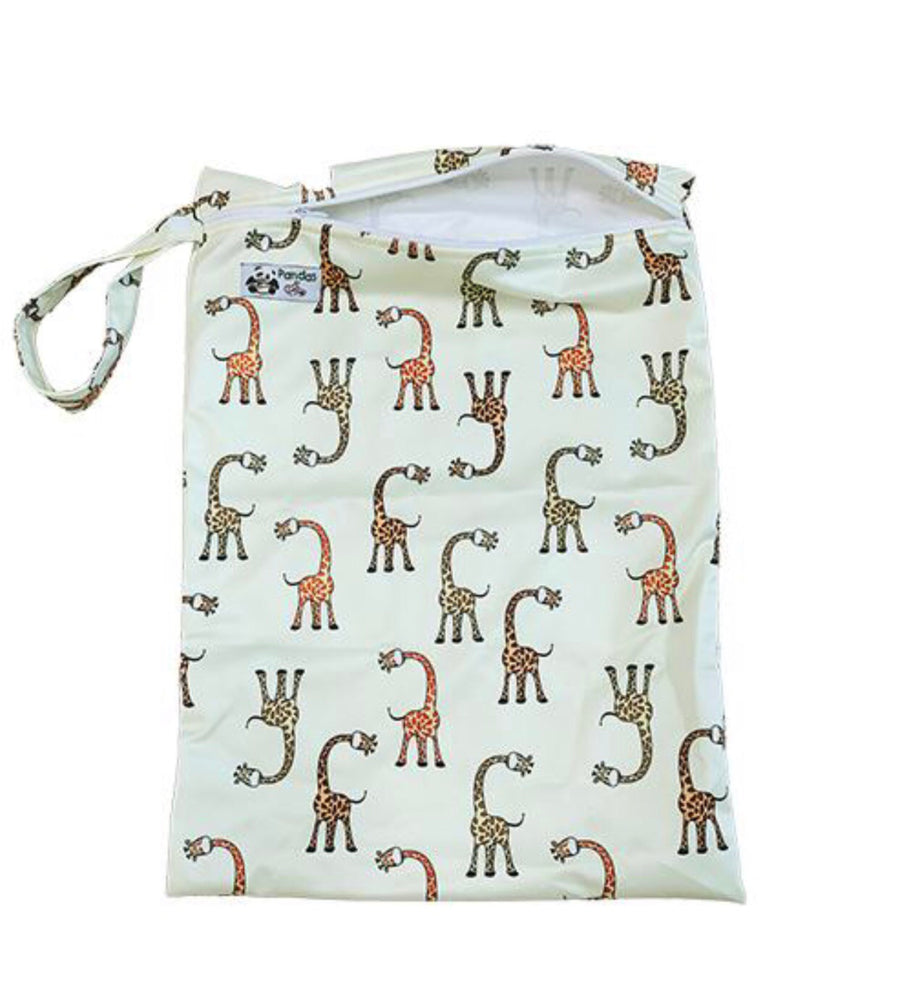 Luvme Eco Reusable Wet Dry Bags GIRAFFE