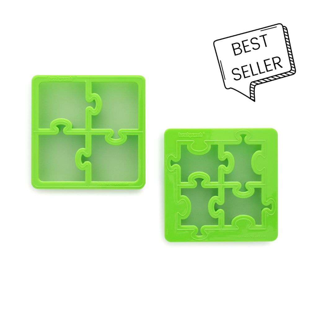Lunch Punch Sandwich Cutters - Puzzles