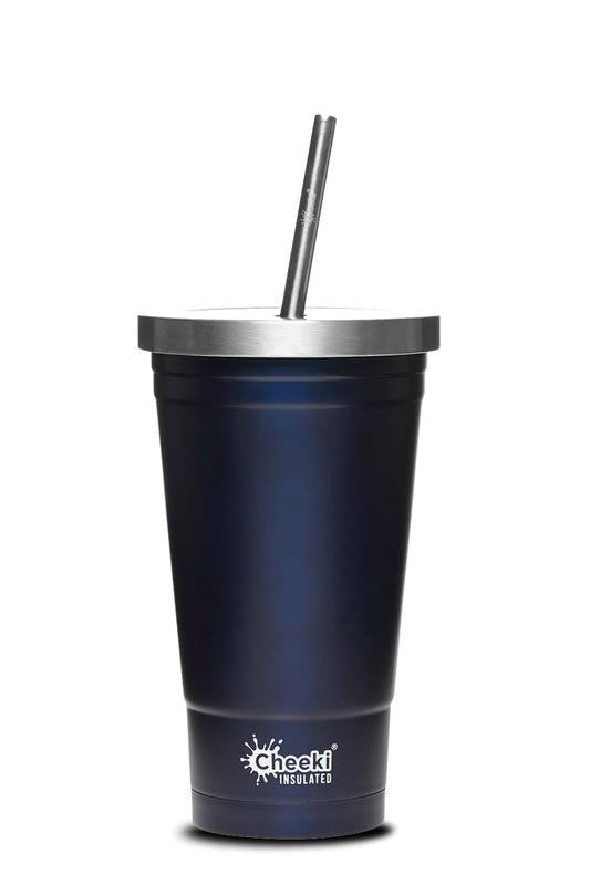 Cheeki Stainless Steel Insulated Tumbler - Ocean