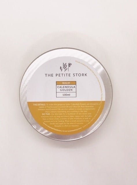 The Petite Stork Calendula Golden Balm (Skin Saviour)
