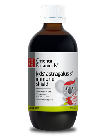 ORIENTAL BOTANICALS Kid's Astragalus 8 Immune Shield 200ml