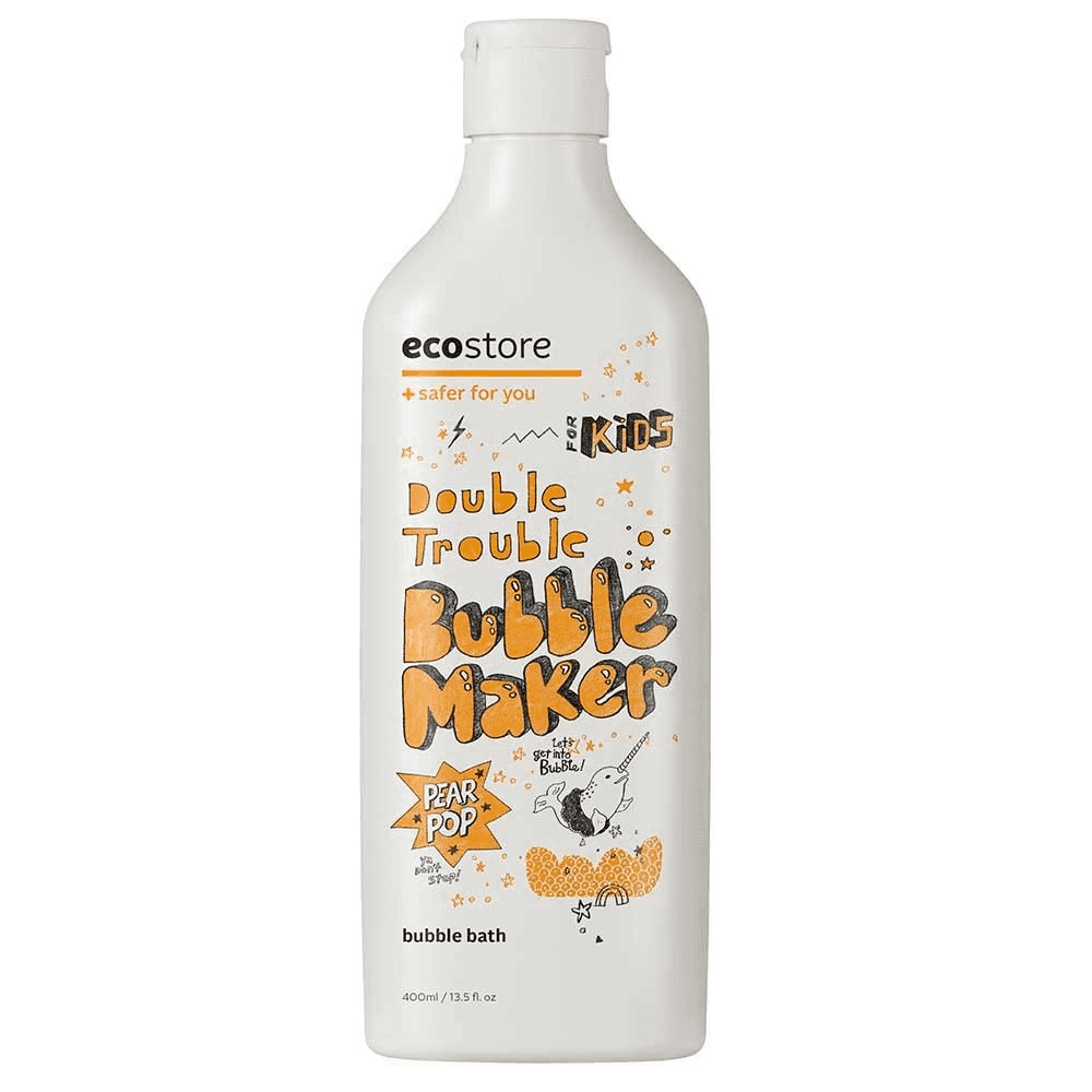 Ecostore Kids Double Trouble Bubble Maker - Pear Pop - 400ml