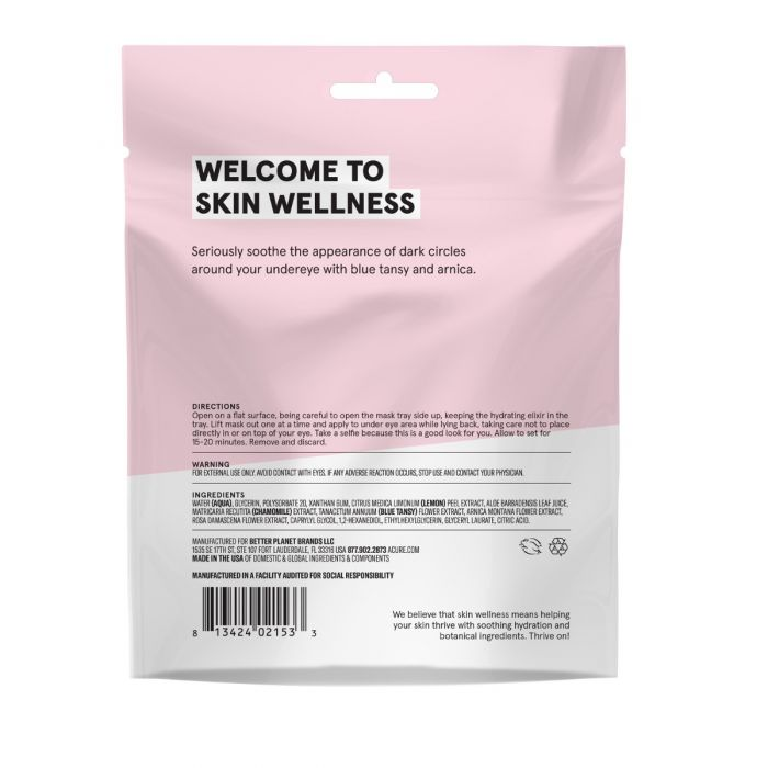 Acure Seriously Soothing Under Eye Hydrogel Mask