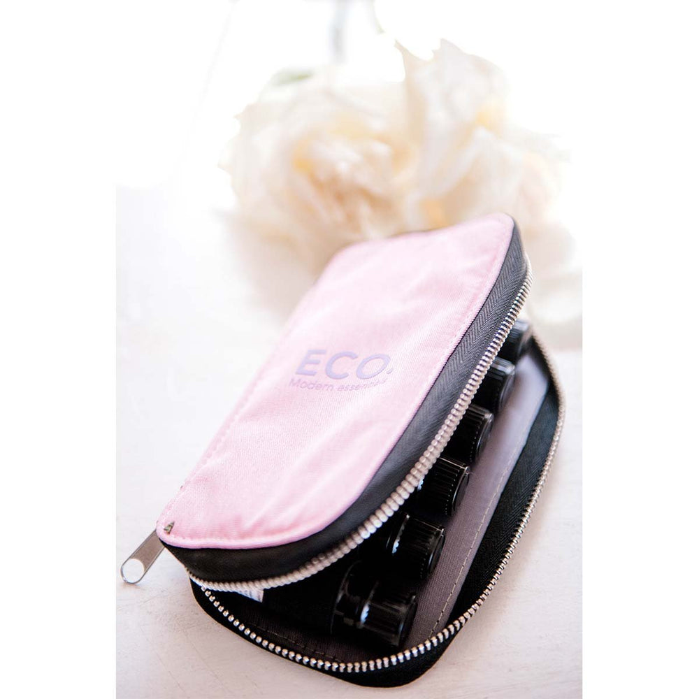 Essential Oil Travel Case - Pink