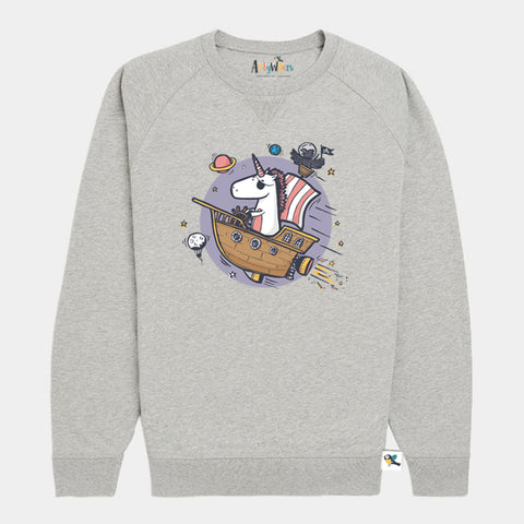Kids Organic Cotton Sweatshirt // Imagination