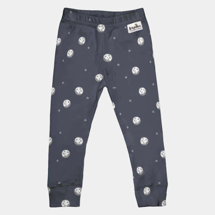 Kids Organic Cotton Leggings // Outer Space