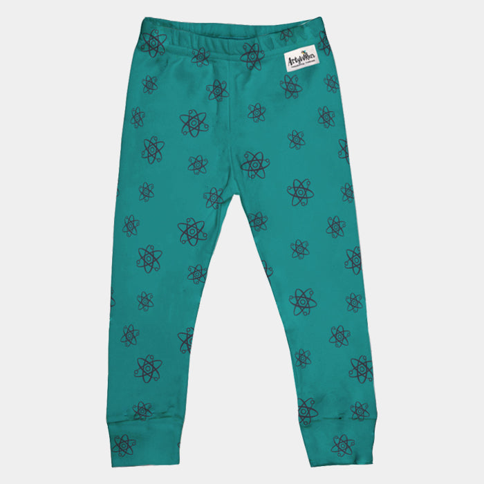 Kids Organic Cotton Leggings // Science