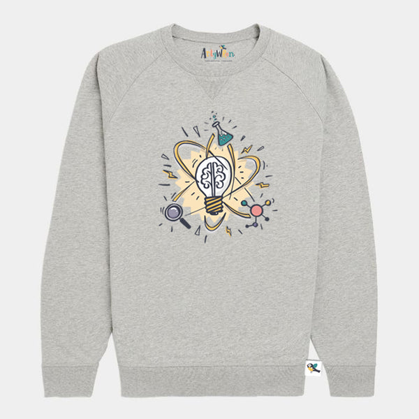 Kids Organic Cotton Sweatshirt // Science
