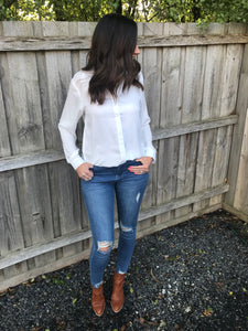 Celine White Shirt