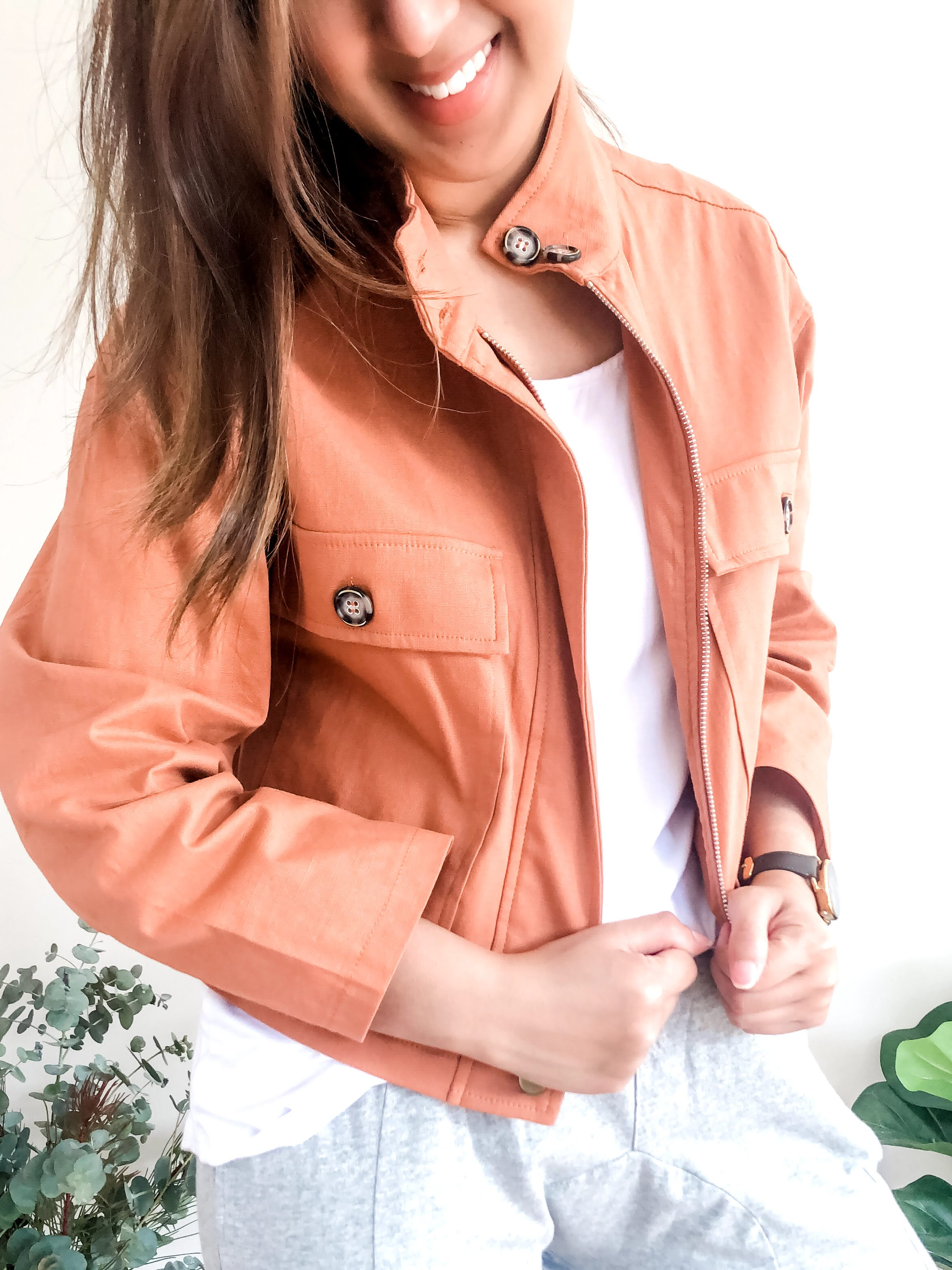 Cloverley Jacket - Rust