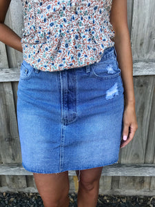 Riley Denim Skirt