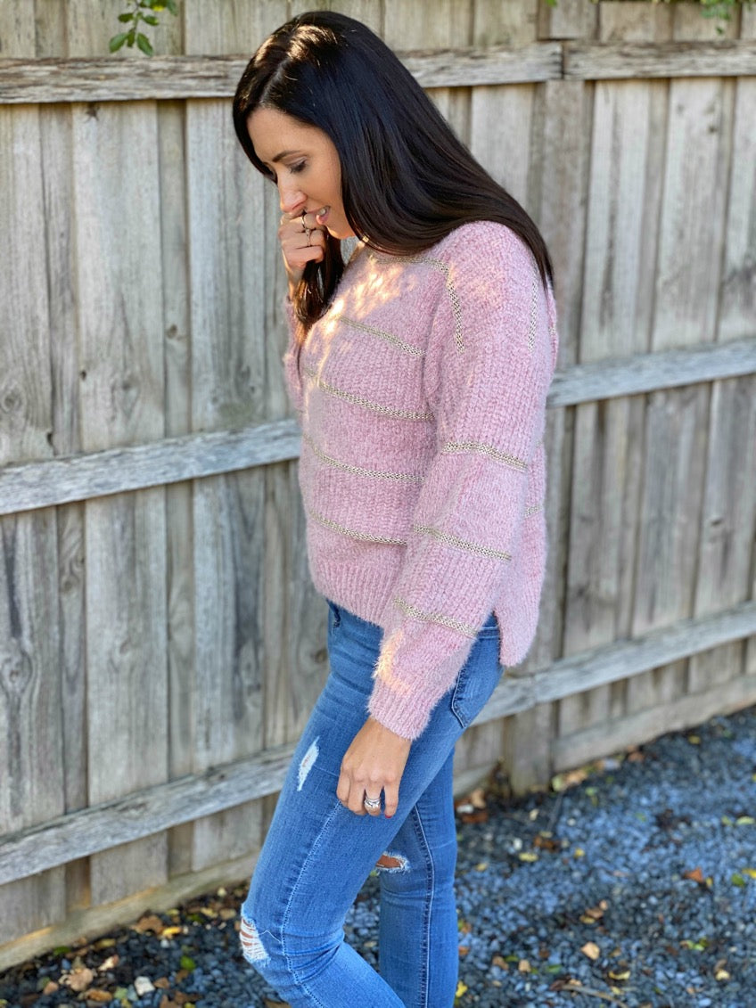 Selby Knit - Blush