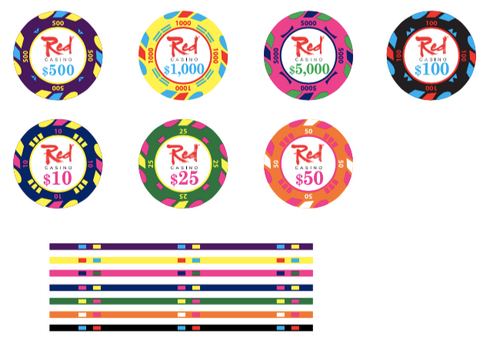 Casino gaming chips
