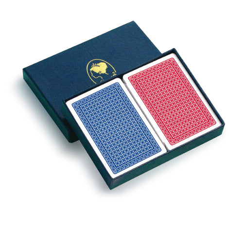 Queen brand PVC poker cards - Setup
