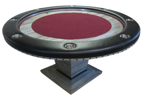 Round Poker with laminated Inlay: RPT-Li