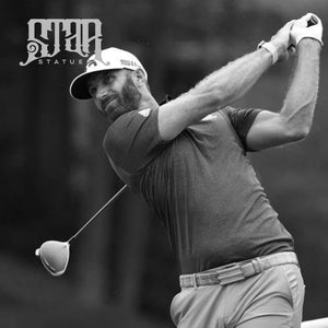 Dustin Johnson Bronze Golf Statue - Star Statues