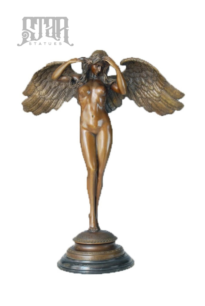 Female Angel | Mythical Sculpture Bronze Statue