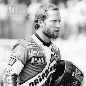 Kenny Roberts Bronze Statue - Star Statues