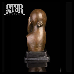 Mlle Pogany Statue by Constantin Brancusi | Abstract Sculpture | Bronze Statue - Star Statues