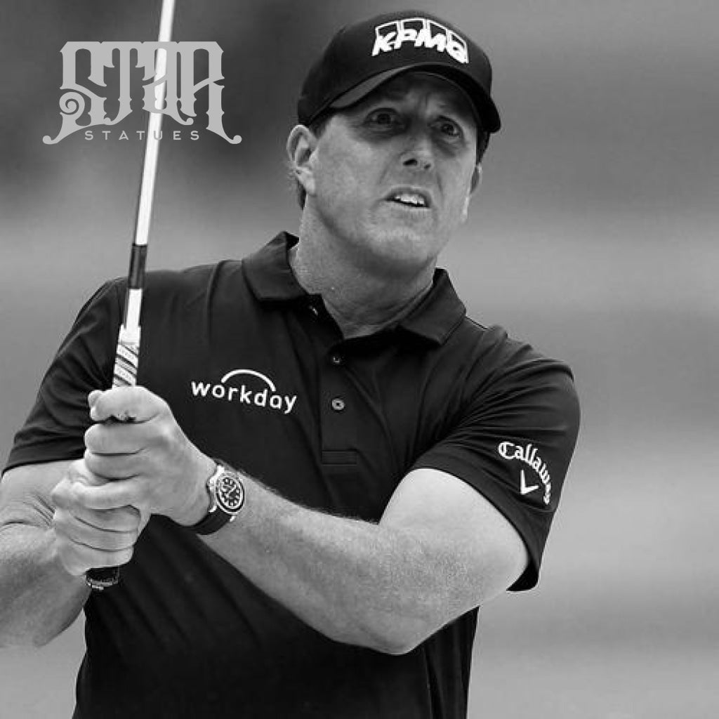 Phil Mickelson Bronze Golf Statue - Star Statues