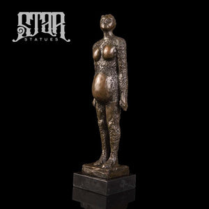 Pregnant Woman | Abstract Sculpture | Bronze Statue - Star Statues