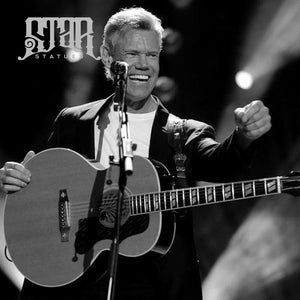 Randy Travis Bronze Statue - Star Statues