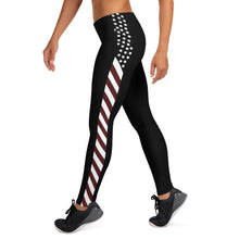 Load image into Gallery viewer, USA Side Stripe Leggings