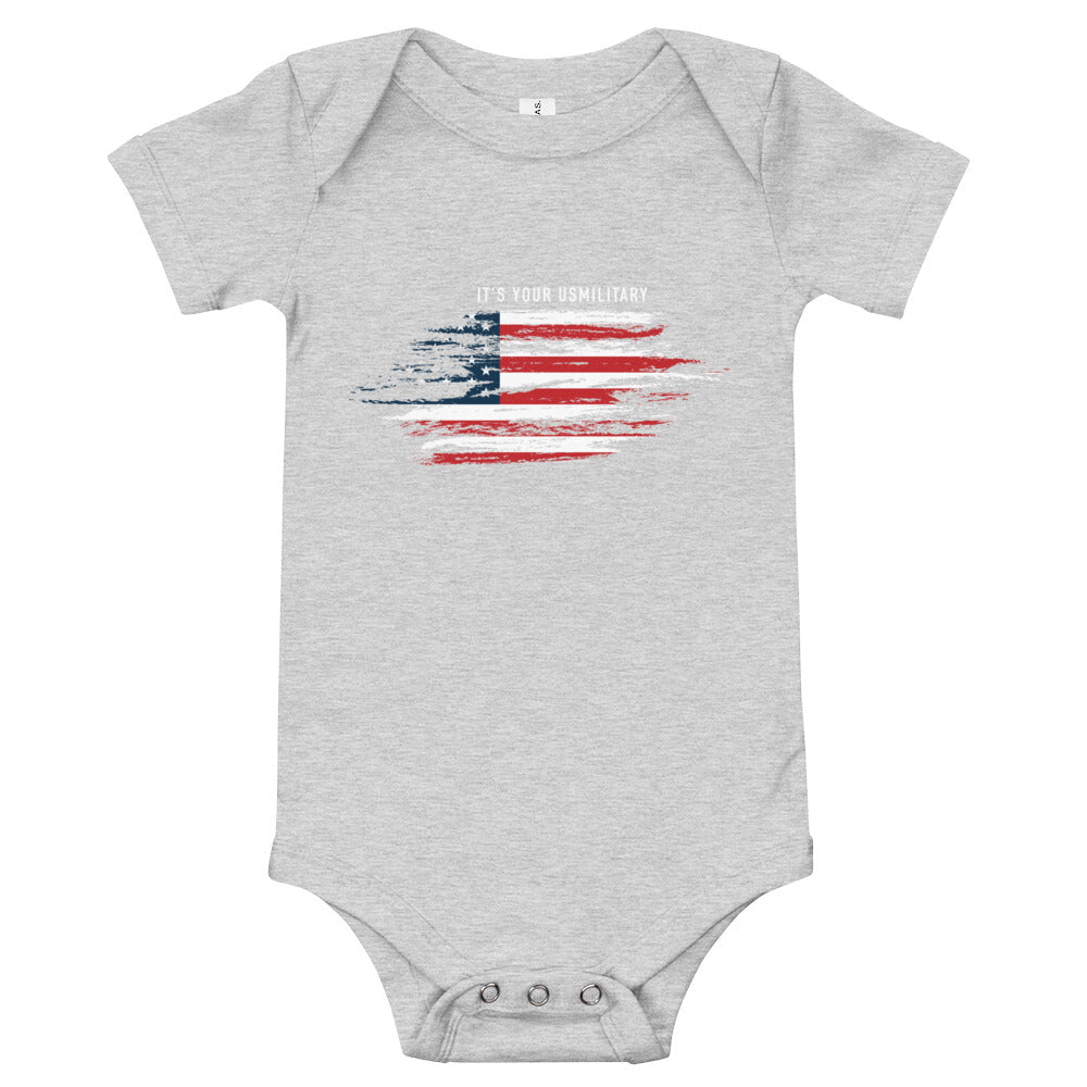 USM Flag Onesie for Babies