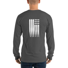 Load image into Gallery viewer, Long sleeve USM Bullet Flag t-shirt