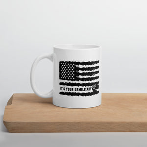 USM Distressed Flag Mug