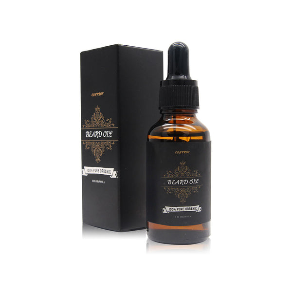 30ml Natural Beard Oil Mustache Beard Moisturizing Conditioner for Men Use - Knight For You