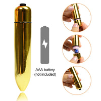 Vibrating Waterproof Mini Bullet - Knight For You