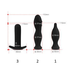 PUMP Inflatable Silicone Anal Dildo - Knight For You