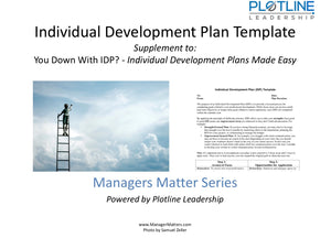 Individual Development Plan - Template