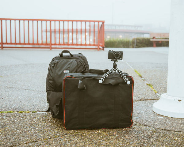 Living out of backpack - Technology