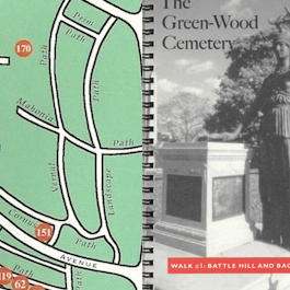 Special Package: Brooklyn's Green-Wood Cemetery, Map & Tour Books