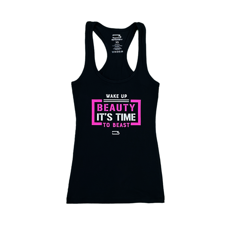 Time To Beast Racerback Tank
