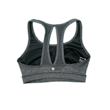 Racerback Sports Bra with Mesh Back