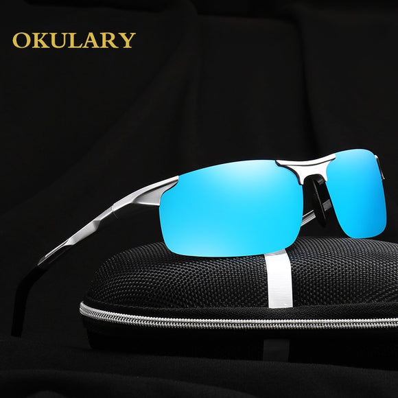 Men Goggle Polarized Sunglasses 5 Color.